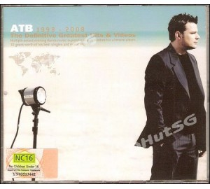 ATB : 1998-2008 DEFINITIVE GREATEST HITS & VIDEOS 2CD+DVD