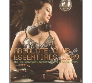 ABSOLUTE CLUB ESSENTIALS 2009 2CD Full Length To Clubland's Finest
