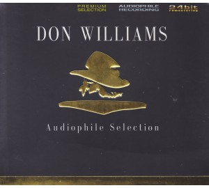 Don Williams : AUDIOPHILE SELECTION 24Bit Remastered CD